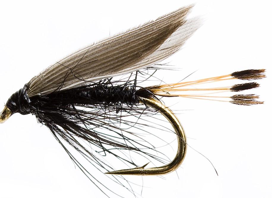 Peche à la truite dans les lacs de tourbières: Mayfly ou… Blae & Black?